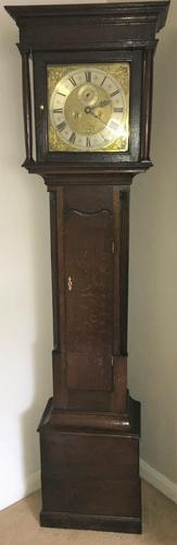Eight Day Early George II London Longcase Clock (1 of 10)