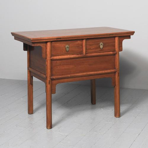 Large Chinese Elm Altar Style Table (1 of 10)