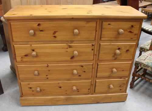 1960's Country Pine Merchants Chest Drawers (1 of 5)
