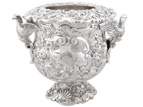 Antique George III Sterling Silver Wine Cooler (1 of 18)