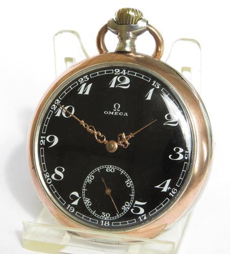 Antique Omega Pocket Watch, 1910s (1 of 5)