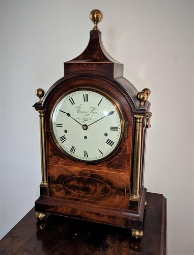 Regency 3 Train Musical Bracket Clock (1 of 7)