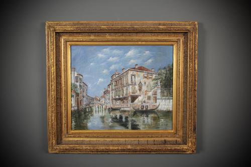 Oil Painting in Gilt Frame (1 of 12)