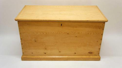 Large Victorian Pine Blanket Box/Chest (1 of 16)