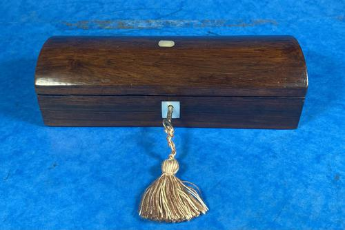 Victorian Rosewood Glove Box (1 of 10)