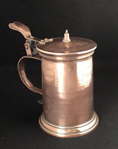 Arts & Crafts Copper Tankard (1 of 5)