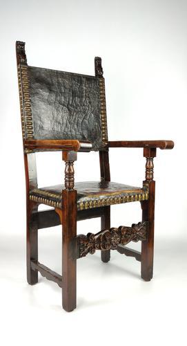 Late 17th Century Spanish Armchair (1 of 8)