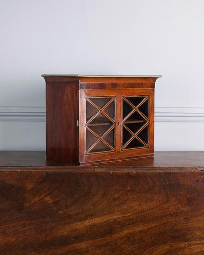 19th Century Glazed Wall Hanging Cabinet (1 of 5)