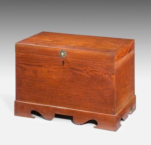 Mid 19th Century Teak Rectangular Lidded Box (1 of 5)