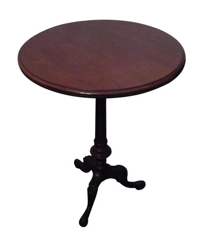 Victorian mahogany tripod table circa 1860 (1 of 2)