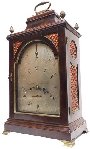 Antique Georgian Twin Fusee English Bracket Clock Verge Striking Clock by Fenwick L Shields (1 of 7)