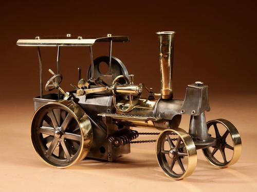 Live Early Model of Wilesco Steam Roller (1 of 12)