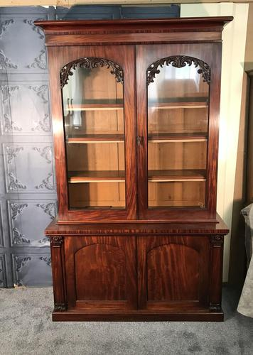 Quality Victorian Mahogany Library Bookcase (1 of 14)
