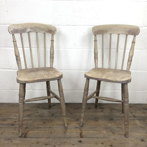 Pair of 19th Century Ash & Elm Chairs (1 of 10)