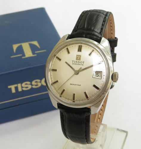 Gents Tissot Visodate Seastar Wrist Watch, 1969 (1 of 7)