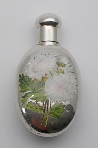 Sampson Mordan Silver & Enamel Scent Bottle (1 of 5)