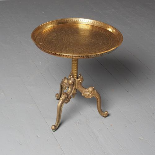 Cast Brass Occasional Table (1 of 9)