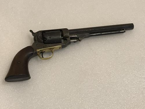 Witney cap and ball six shot revolver 1850's (1 of 13)