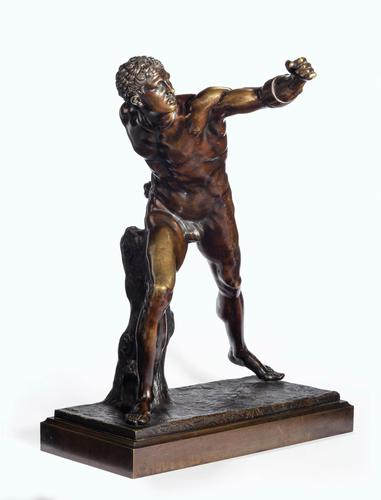 Very Well Cast 19th Century Bronze of a Gladiator (1 of 7)