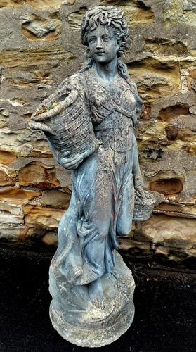 Large Composition Stone Figure / Garden Statuary (1 of 7)