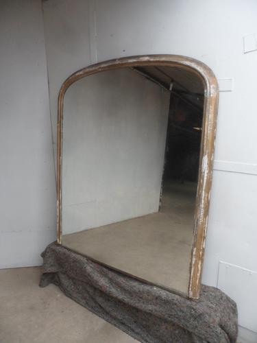 Large Original Victorian Gilt Mirror for Restoration / Regilting / Repainting (1 of 10)