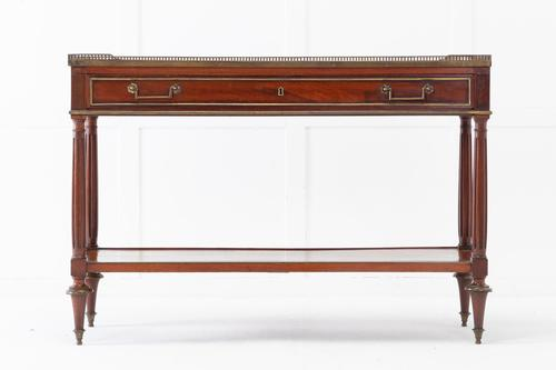 19th Century French Mahogany Console Table (1 of 5)