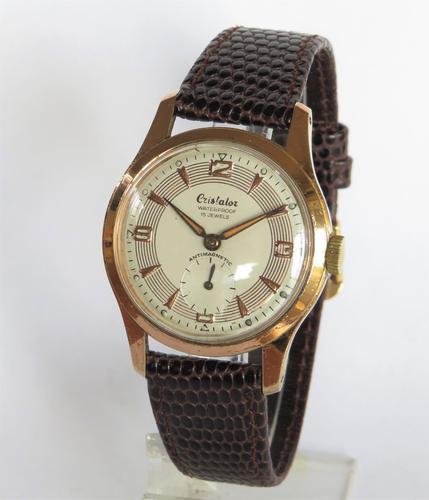 Gents 1950s Cristalor wrist watch (1 of 5)