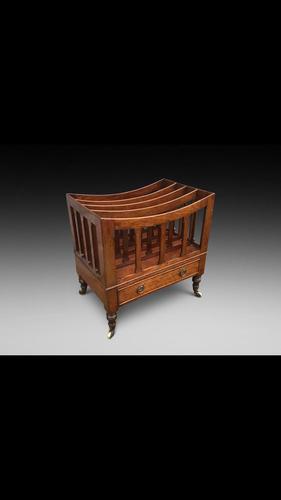 A very desirable 19th century mahogany Canterbury (1 of 4)