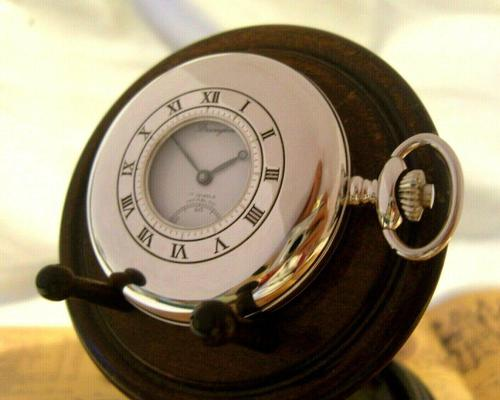 Vintage Pocket Watch 1970s Bravingtons Swiss 17 Jewel Half Hunter & Box Fwo (1 of 12)