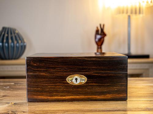Decorative Coromandel Table Box 1850 (1 of 8)