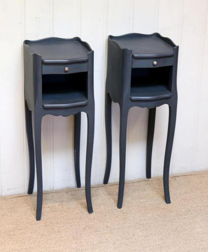Pair Of Painted Bedside Cabinets (1 of 10)