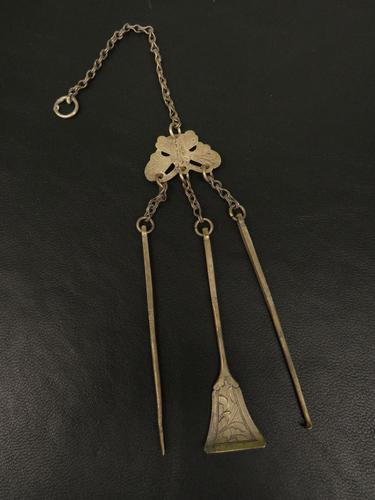 Antique Old Silver Chinese Chatelaine (1 of 11)