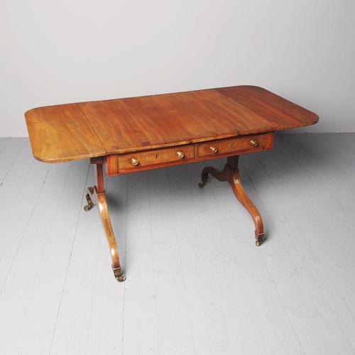 Antique Regency Mahogany Sofa Table (1 of 8)