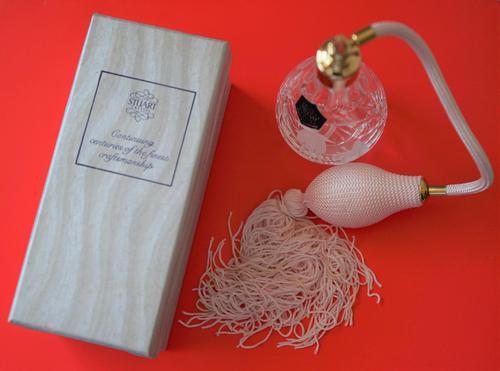 Vintage New Stuart Crystal  Perfume / Scent Atomiser - Boxed (1 of 12)