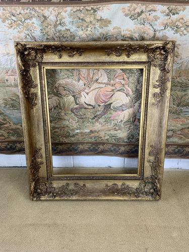 Large 19th Century Gilt Frame (1 of 6)