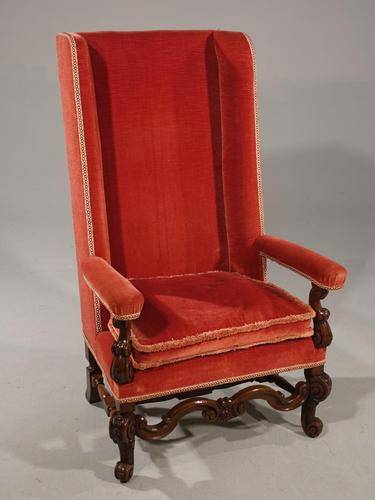 Good Quality Early 20th Century High Backed Mahogany Framed Chair (1 of 5)