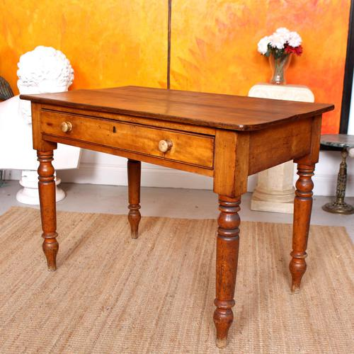 Desk Writing Table Victorian Pine (1 of 9)