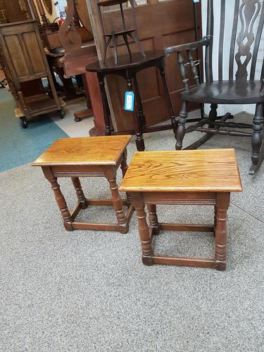 Pair of Country Stools (1 of 5)
