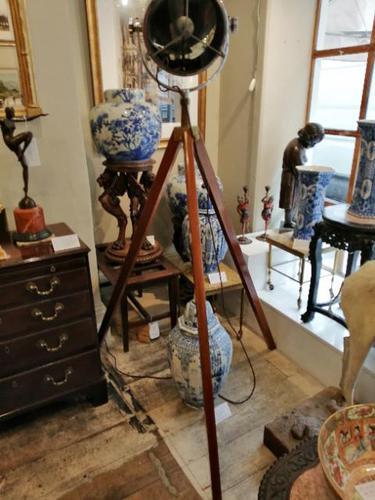 Vintage Industrial Lamp + Tripod (1 of 7)