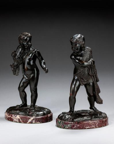 Pair of Mid-19th Century Italian Bronze Figures (1 of 5)