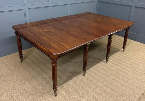 Gillows Style Regency Mahogany Dining Table (1 of 22)