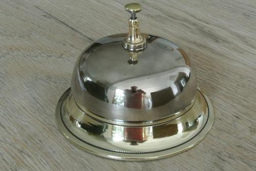 Victorian Brass Table Bell or Counter Bell c.1900 (1 of 5)