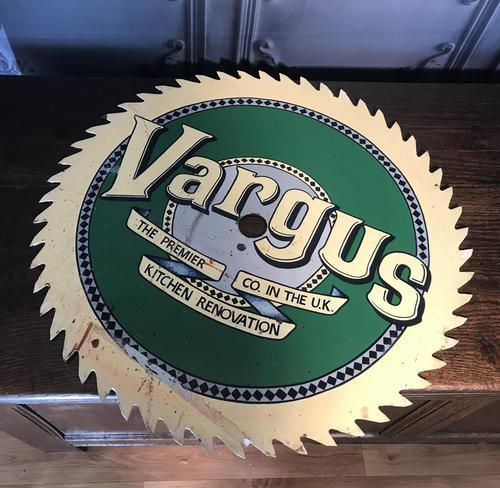 Vintage Sign Vargus (1 of 7)
