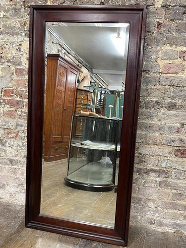 Antique Mahogany Large Mirror (1 of 4)