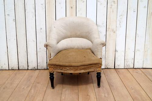 French Chair for re-upholstery (1 of 7)