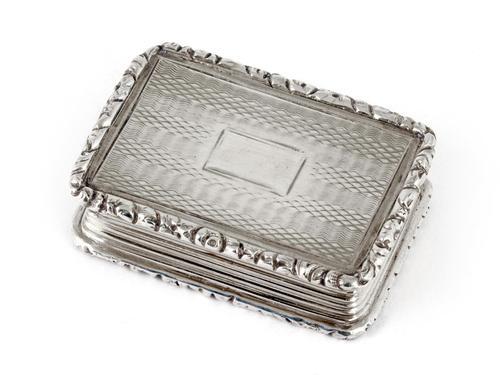 Antique Silver Vinaigrette by Joseph Willmore (1 of 8)