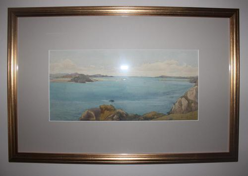 Antique Original Watercolour - Bunbeg, Donegal 1893 - Mary Sophia Godlee '1860-1932' (1 of 5)