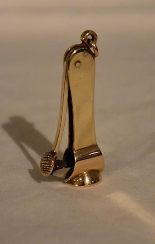 14ct Gold Cigar Cutter (1 of 4)
