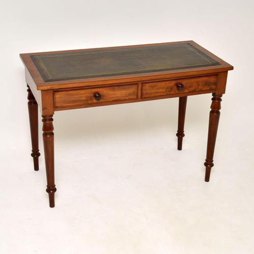 Antique Victorian  Mahogany  Leather   Top Writing Table / Desk (1 of 10)