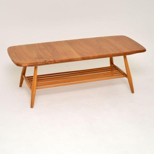 1960's Vintage Ercol Coffee Table in Elm (1 of 9)